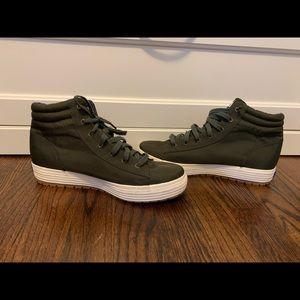 Women's Keds green high top sneakers sz: 8